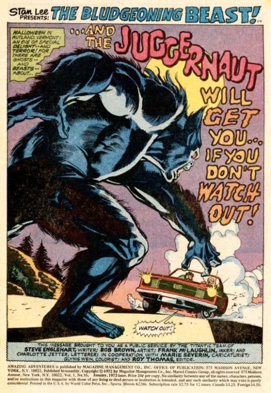 Amazing Adventures #16 (1973)