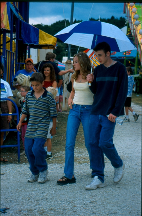 Chris McCoy, Kate Bosworth, and Chris Evans in a scene from Edgewood Studios' The Newcomers. (Edgewood Studios / photo)